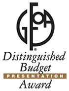 Distinguished Budget Award