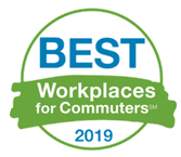 Best Workplaces for Commuters 2019 logo